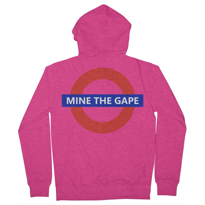 mind the gape Women's French Terry Zip-Up Hoody by FredRx's Artist Shop