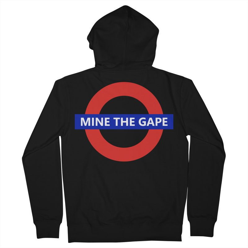 mind the gape Men's French Terry Zip-Up Hoody by FredRx's Artist Shop