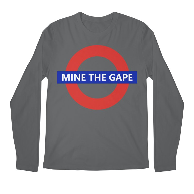 mind the gape Men's Longsleeve T-Shirt by FredRx's Artist Shop