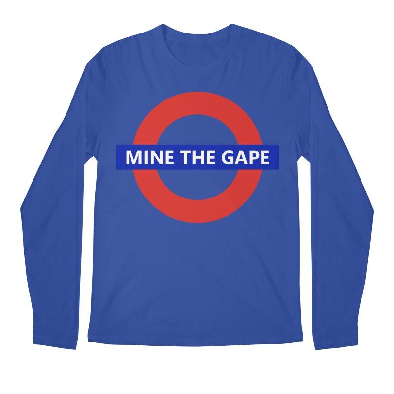 mind the gape Men's Regular Longsleeve T-Shirt by FredRx's Artist Shop