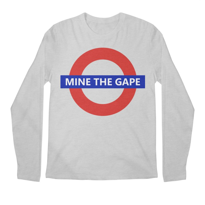 mind the gape Men's Regular Longsleeve T-Shirt by FredRx's Artist Shop