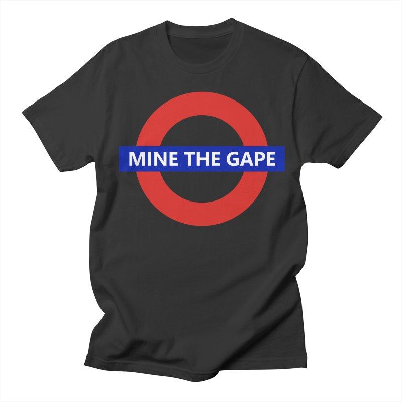 mind the gape Men's Regular T-Shirt by FredRx's Artist Shop