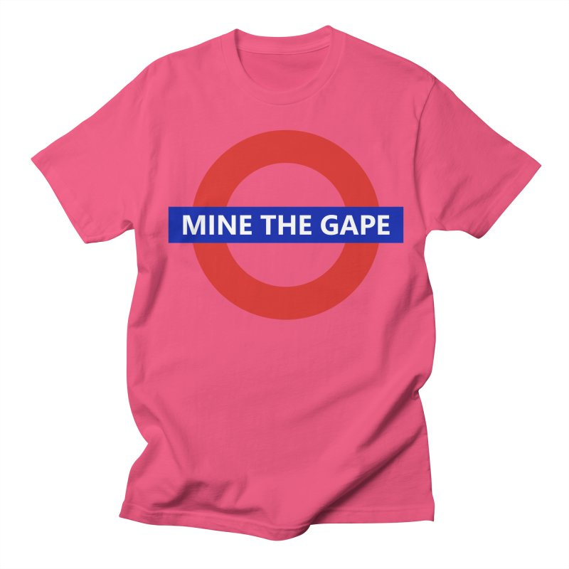 mind the gape Women's Regular Unisex T-Shirt by FredRx's Artist Shop