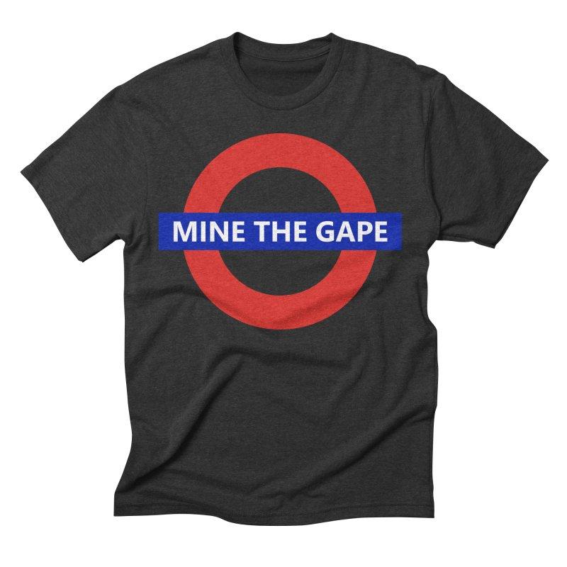 mind the gape Men's Triblend T-Shirt by FredRx's Artist Shop