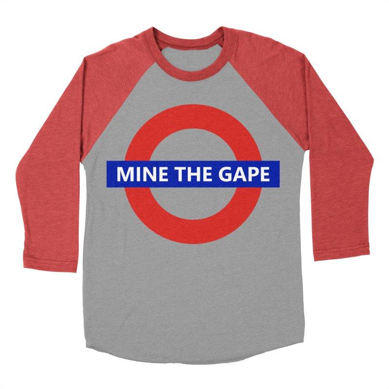 mind the gape Women's Baseball Triblend Longsleeve T-Shirt by FredRx's Artist Shop