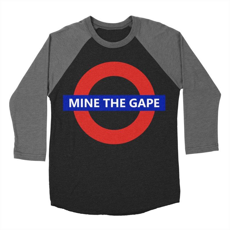 mind the gape Men's Baseball Triblend Longsleeve T-Shirt by FredRx's Artist Shop