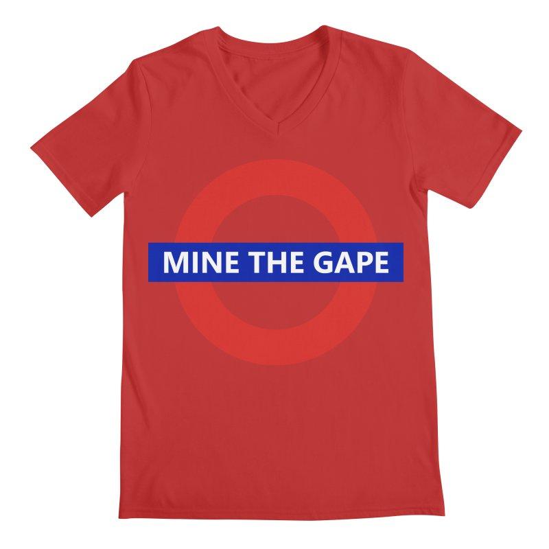 mind the gape Men's Regular V-Neck by FredRx's Artist Shop