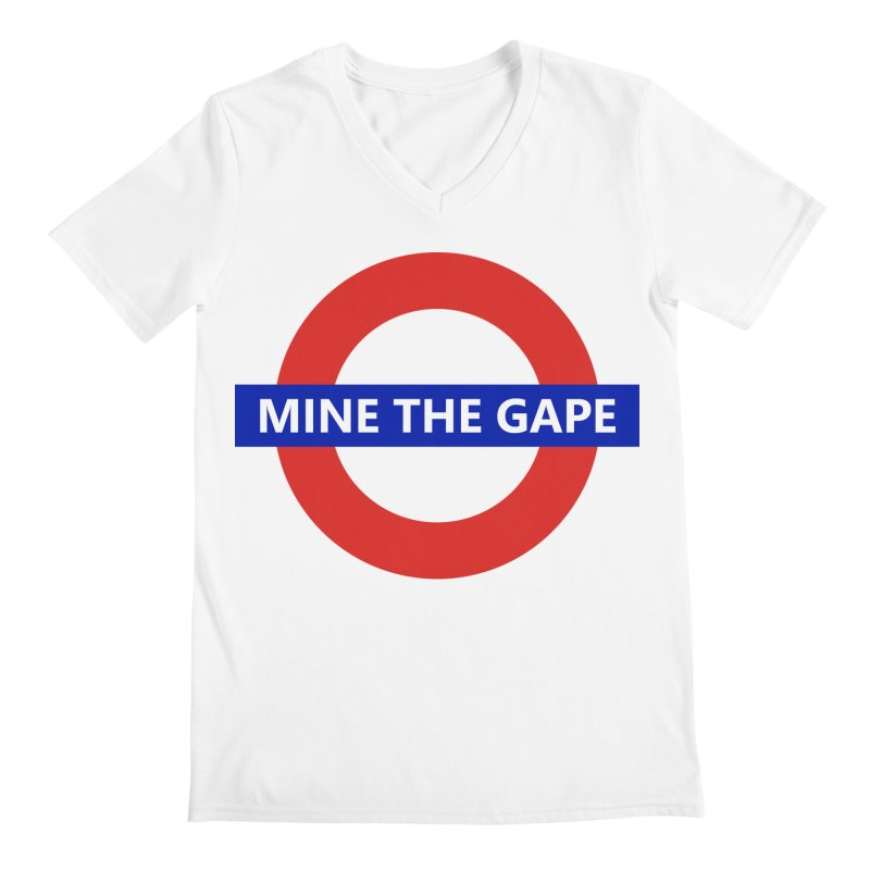 mind the gape Men's V-Neck by FredRx's Artist Shop