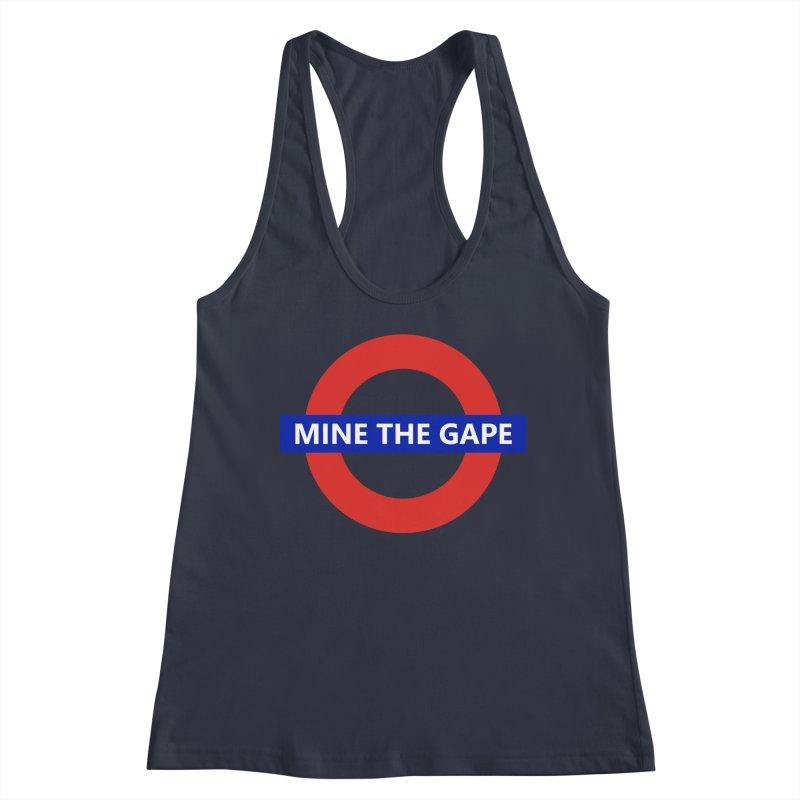 mind the gape Women's Racerback Tank by FredRx's Artist Shop