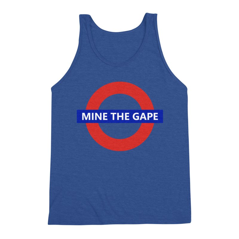 mind the gape Men's Triblend Tank by FredRx's Artist Shop