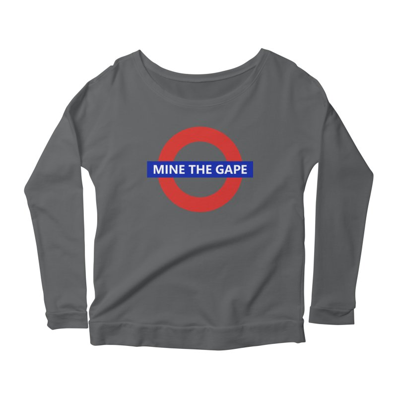 mind the gape Women's Longsleeve T-Shirt by FredRx's Artist Shop