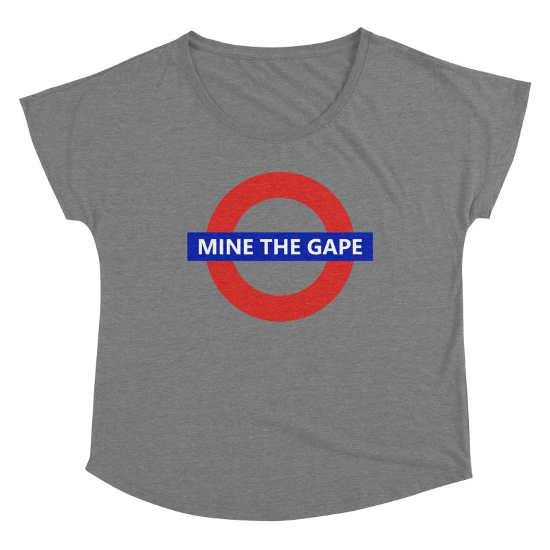 mind the gape Women's Scoop Neck by FredRx's Artist Shop