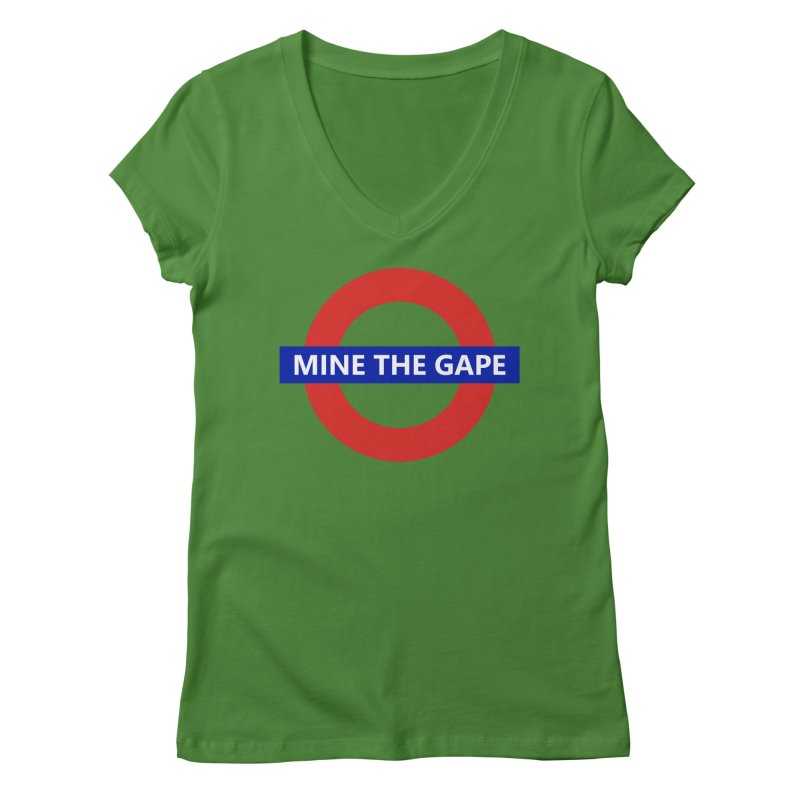 mind the gape Women's Regular V-Neck by FredRx's Artist Shop