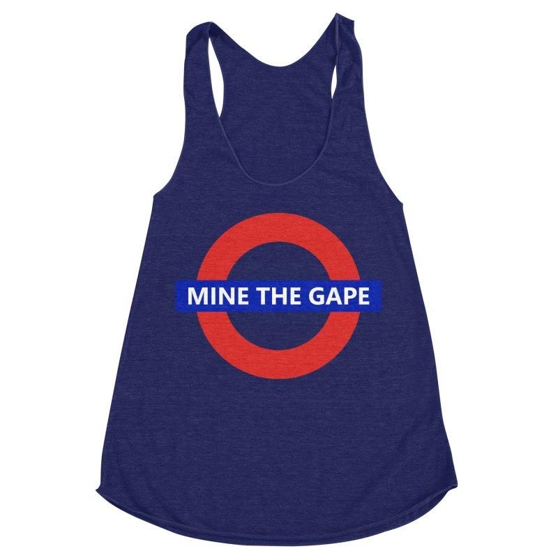 mind the gape Women's Racerback Triblend Tank by FredRx's Artist Shop