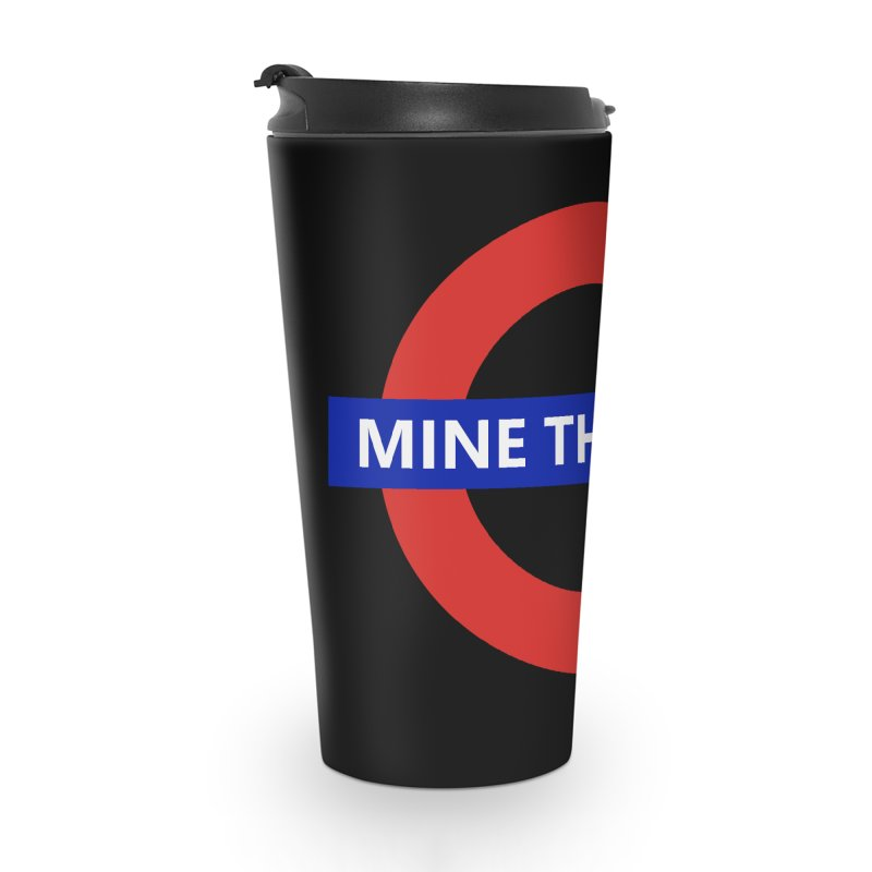 mind the gape Accessories Travel Mug by FredRx's Artist Shop
