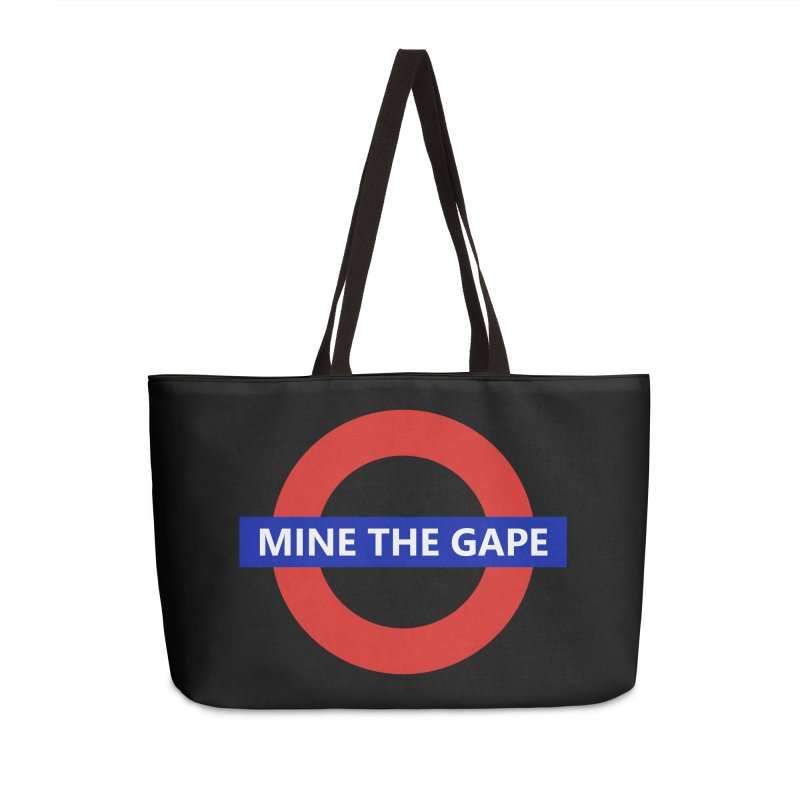mind the gape Accessories Weekender Bag Bag by FredRx's Artist Shop