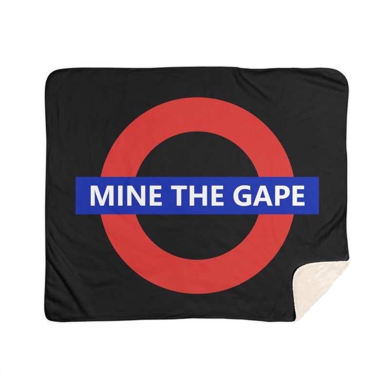 mind the gape Home Sherpa Blanket Blanket by FredRx's Artist Shop