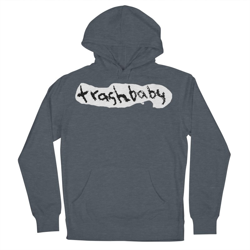 trashbaby Men's French Terry Pullover Hoody by FredRx's Artist Shop