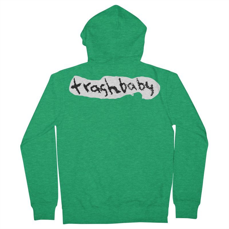 trashbaby Men's French Terry Zip-Up Hoody by FredRx's Artist Shop