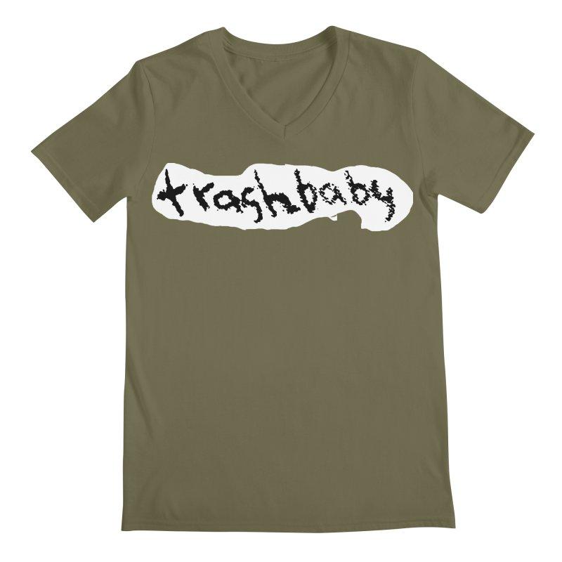 trashbaby Men's Regular V-Neck by FredRx's Artist Shop