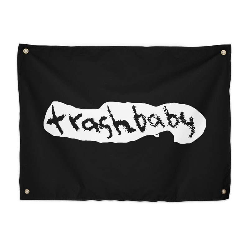 trashbaby Home Tapestry by FredRx's Artist Shop