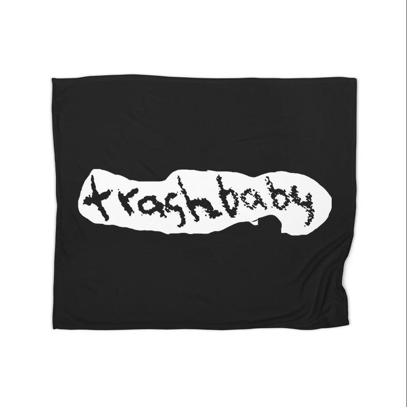 trashbaby Home Fleece Blanket Blanket by FredRx's Artist Shop