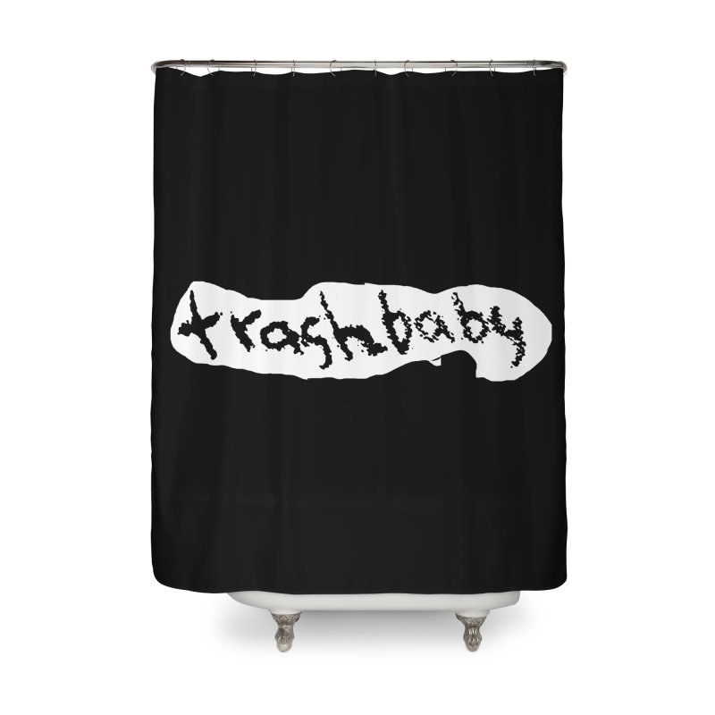 trashbaby Home Shower Curtain by FredRx's Artist Shop