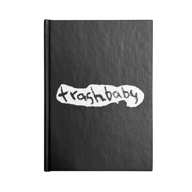trashbaby Accessories Blank Journal Notebook by FredRx's Artist Shop