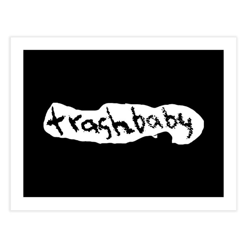 trashbaby Home Fine Art Print by FredRx's Artist Shop