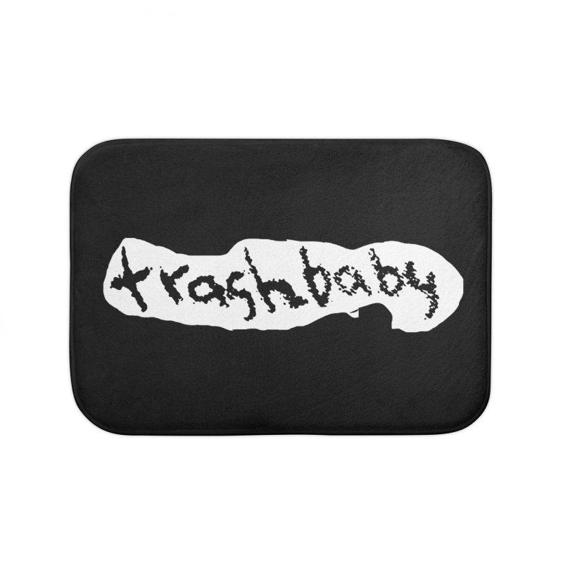 trashbaby Home Bath Mat by FredRx's Artist Shop