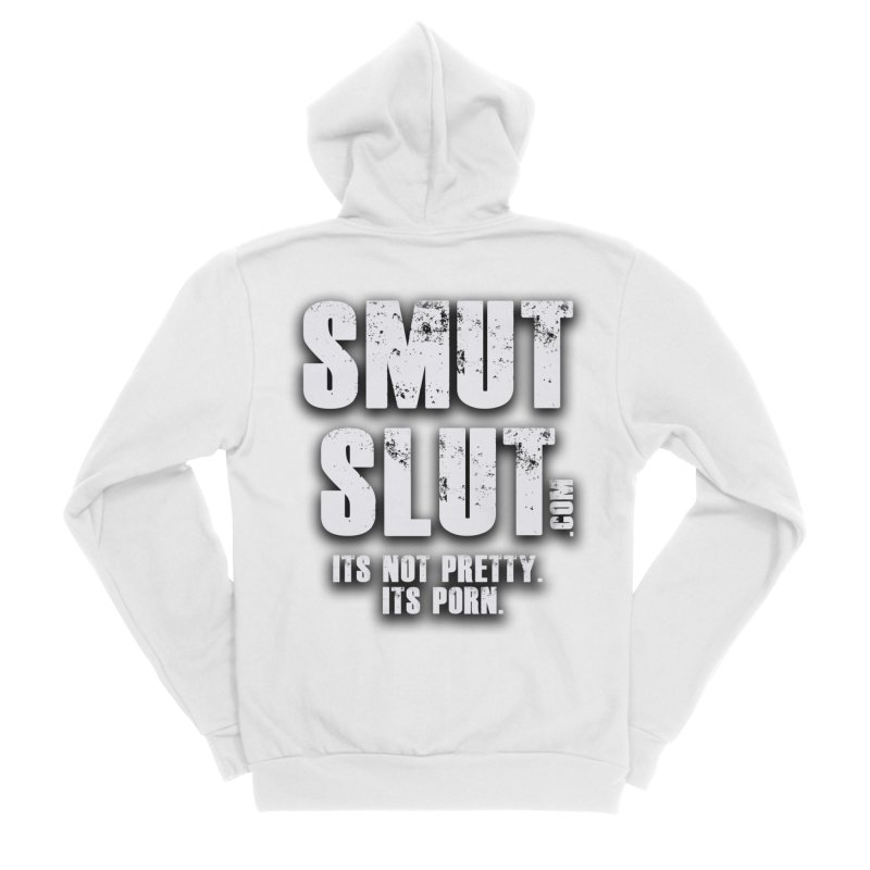 smut slut Men's Sponge Fleece Zip-Up Hoody by FredRx's Artist Shop