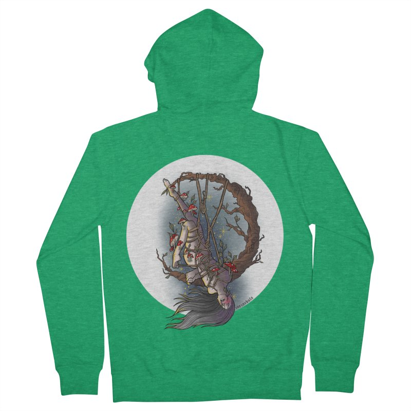 shroom rope Women's Zip-Up Hoody by FredRx's Artist Shop