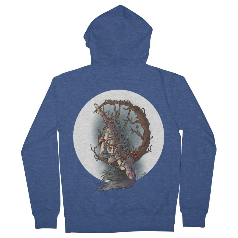 shroom rope Men's French Terry Zip-Up Hoody by FredRx's Artist Shop