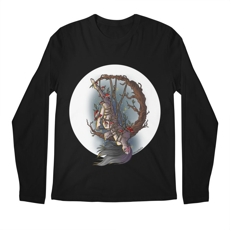 shroom rope Men's Regular Longsleeve T-Shirt by FredRx's Artist Shop