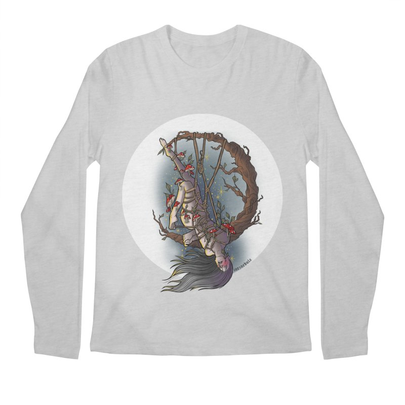shroom rope Men's Regular Longsleeve T-Shirt by FredRx's Artist Shop