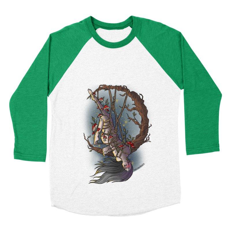 shroom rope Women's Baseball Triblend Longsleeve T-Shirt by FredRx's Artist Shop