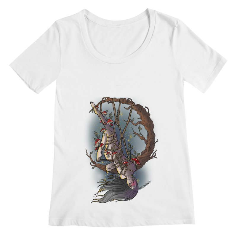 shroom rope Women's Regular Scoop Neck by FredRx's Artist Shop