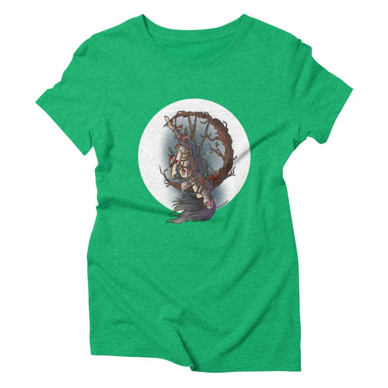 shroom rope Women's Triblend T-Shirt by FredRx's Artist Shop