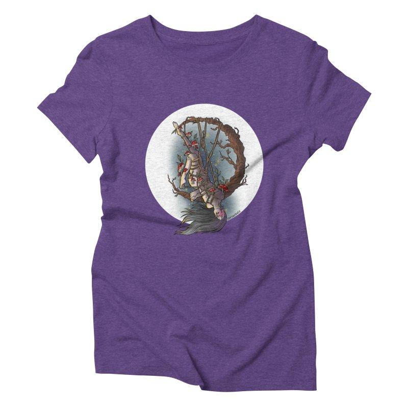 shroom rope Women's T-Shirt by FredRx's Artist Shop