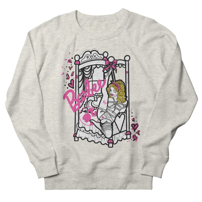 barbee doll Men's French Terry Sweatshirt by FredRx's Artist Shop