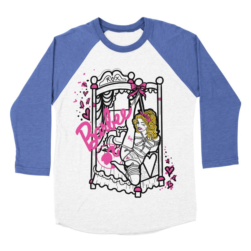 barbee doll Women's Baseball Triblend Longsleeve T-Shirt by FredRx's Artist Shop