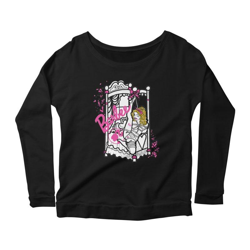 barbee doll Women's Scoop Neck Longsleeve T-Shirt by FredRx's Artist Shop