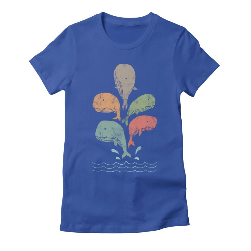 Big Splash Women's Fitted T-Shirt by freeagent08's Artist Shop