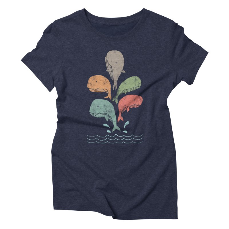 Big Splash Women's Triblend T-shirt by freeagent08's Artist Shop