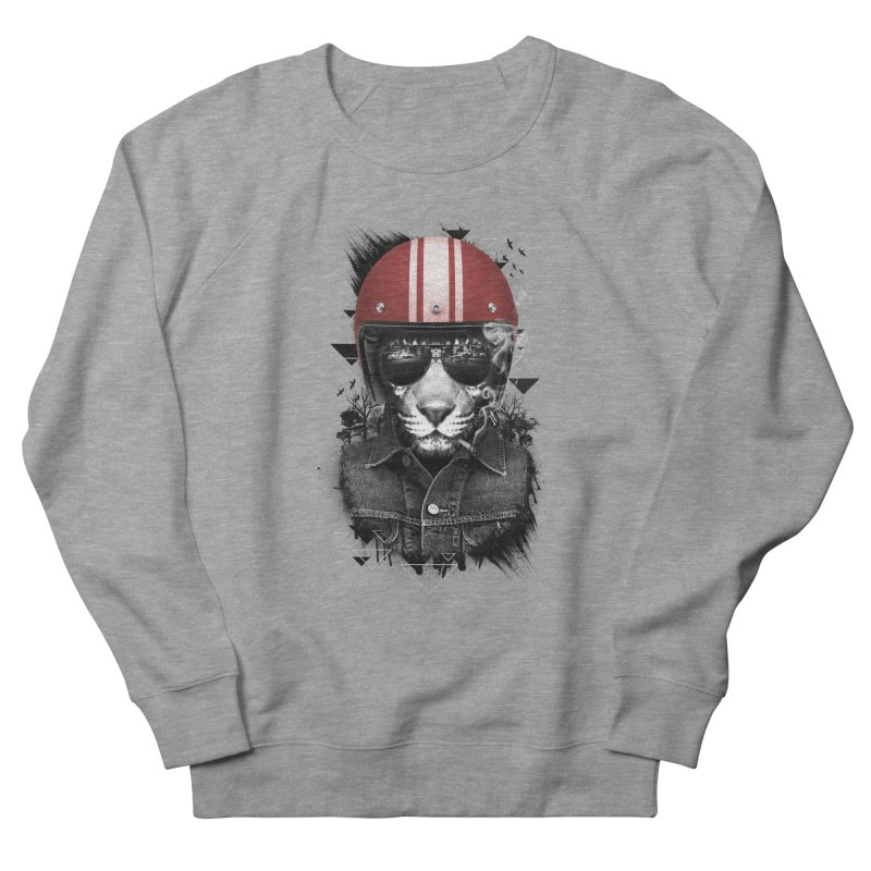 Jungle Rider Men's Sweatshirt by freeagent08's Artist Shop
