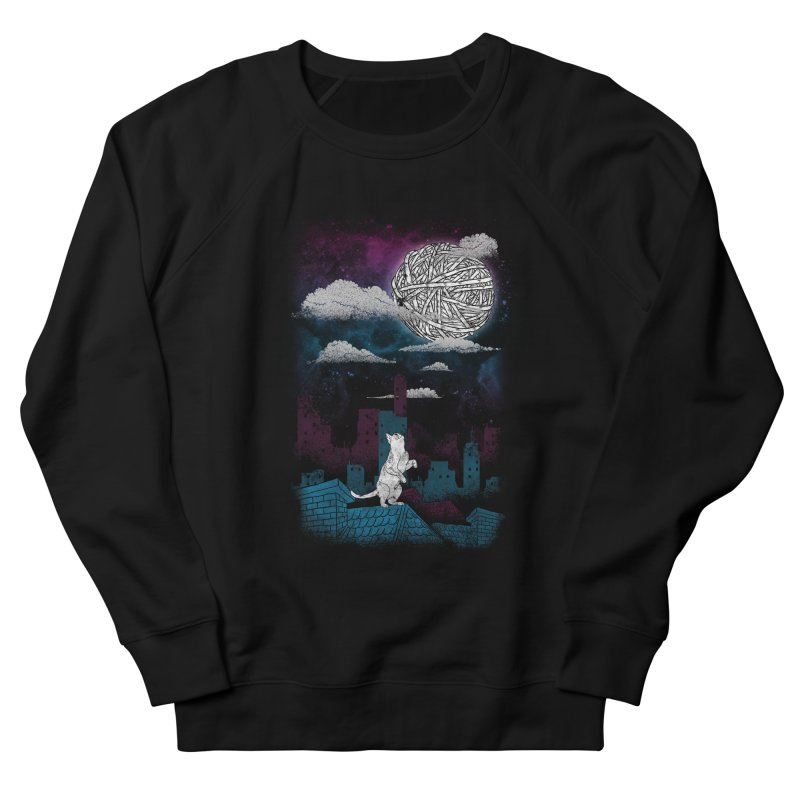 Reach for the Moon Men's Sweatshirt by freeagent08's Artist Shop