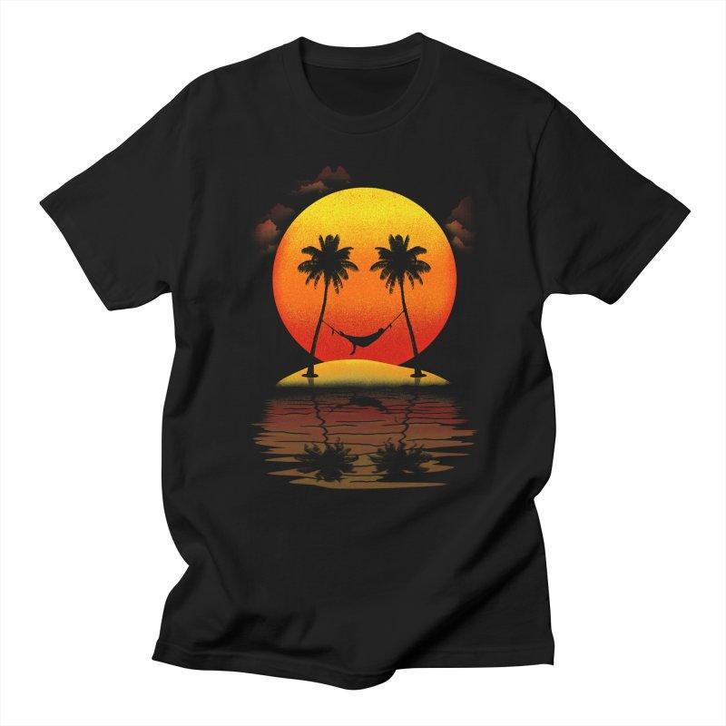 Sunset Smiles Men's T-shirt by freeagent08's Artist Shop