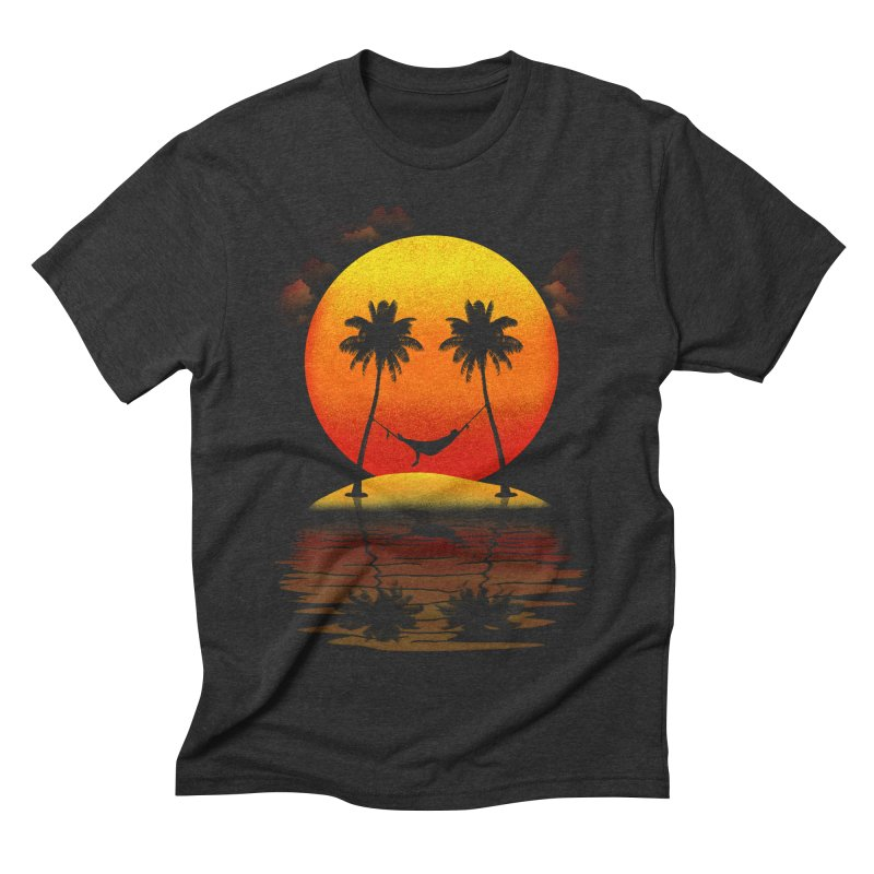 Sunset Smiles Men's Triblend T-shirt by freeagent08's Artist Shop