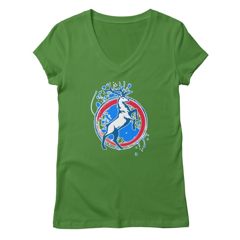 Independence Women's V-Neck by Freedom Gear