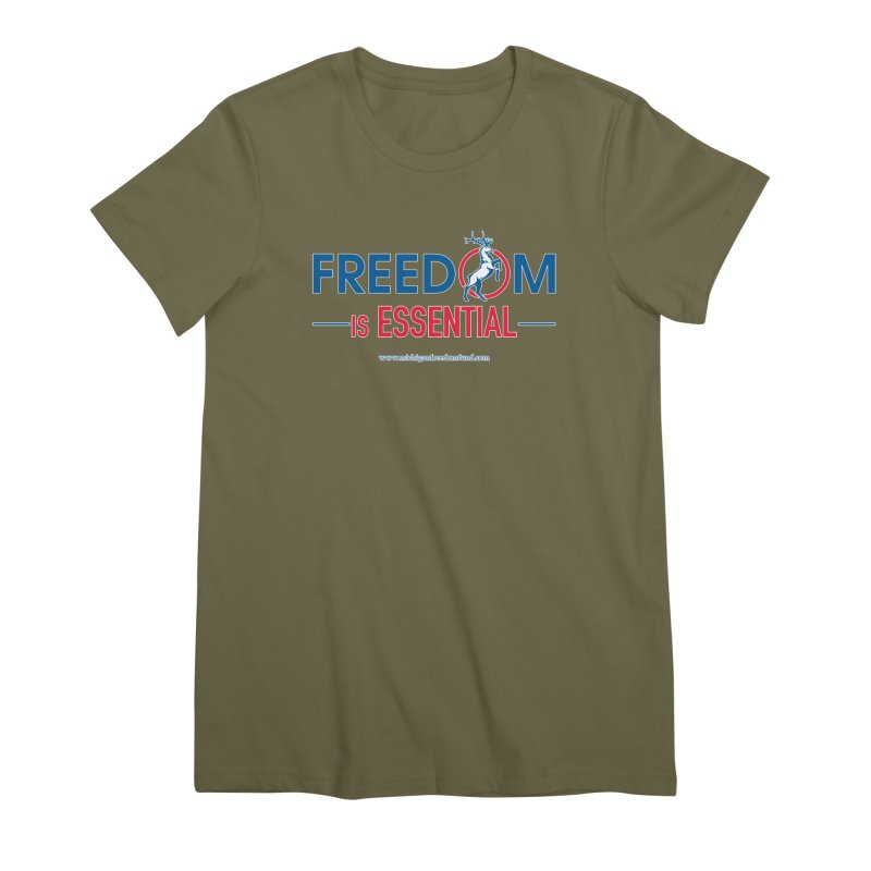FREEDOM is Essential Women's T-Shirt by Freedom Gear